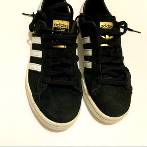 Adidas Originals campus sneakers womens 6 black